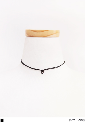 [JEWELRY] DAILY TWO LINE CHOKER