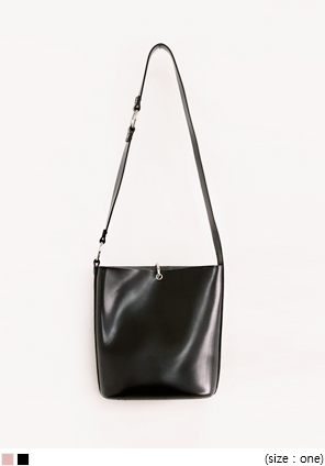 [BAG] LEATHER RING POINT SHOULDER BAG