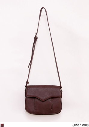 [BAG] FRENCH POKET MEDIUM CROSS BAG