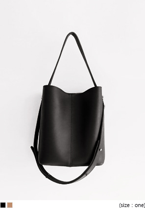 [BAG] LOOF LEATHER SHOULDER BAG