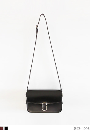 [BAG] SQUARE BUCKLE CROSS BAG