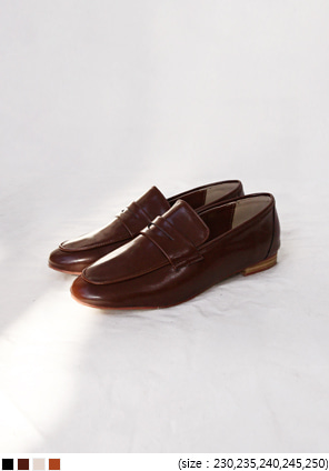 [SHOES] SLIM LINE PENNY LOAFER