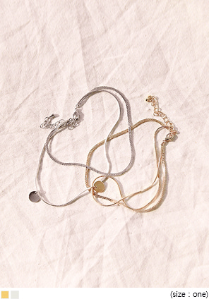 [JEWELRY] SNAKE CHAIN ANKLETS