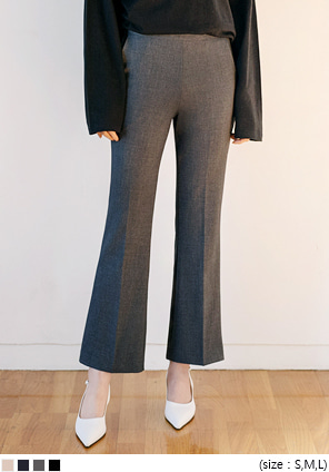 [BOTTOM] SIDE ZIPPER BOOTS SLACKS