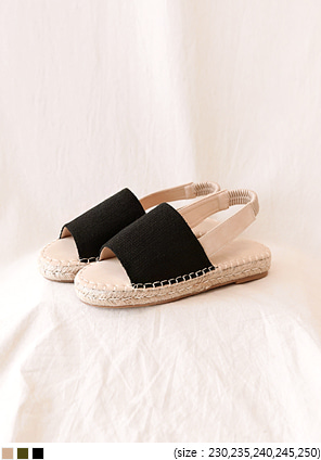 [SHOES] SAYER ESPADRILLE SLINGBACK SANDAL