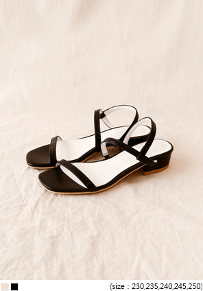 [SHOES] APOLLO TWO STRAP SANDAL