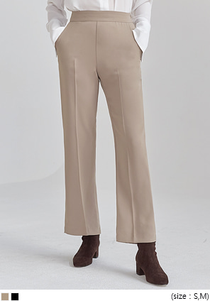 [BOTTOM] PERFECT STRAIGHT FIT SLACKS