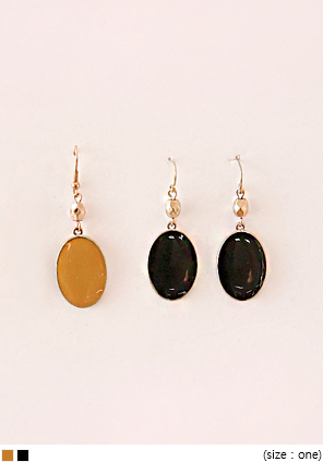 [JEWELRY] VINTAGE CIRCLE DROP EARRING