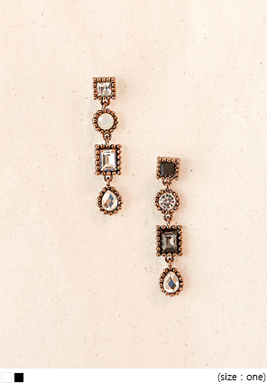 [JEWELRY] MIX TREASURE DROP EARRING