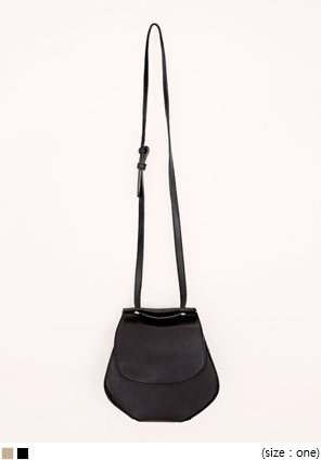 [BAG] POT SHAPE LEATHER BAG