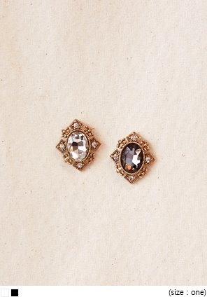 [JEWELRY] BELLA CRYSTAL CUBIC EARRING