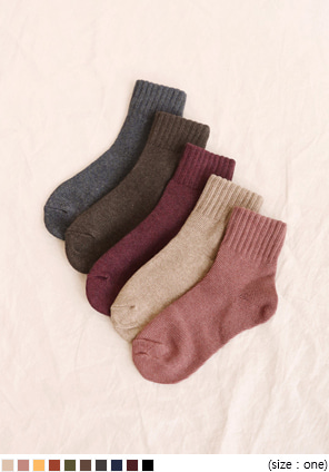 [ACC] 10 COLOR DAILY GOLGI SOCKS