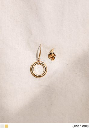 [JEWELRY] 2 TYPE HIT EARRING SET