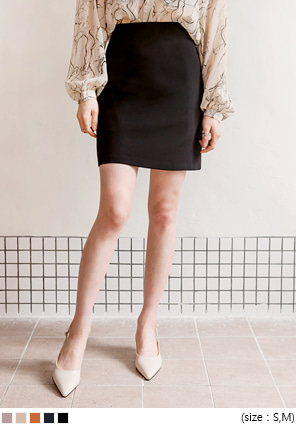 [SKIRT] PONY SIMPLE H LINE SKIRT