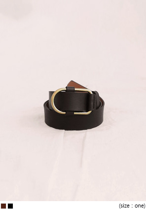 [ACC] BRONZE SIMPLE BUCKLE BELT
