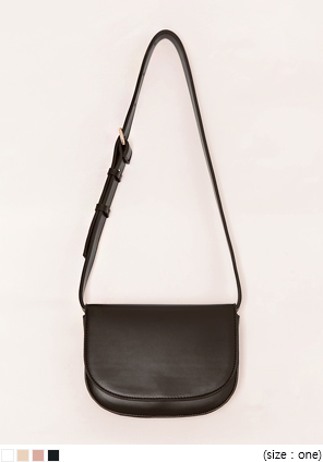[BAG] WALTZ 2 WAY HALF MOON LEATHER BAG