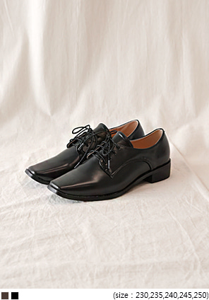 [SHOES] CHIC SLIM OXFORD LOAFER - 2 TYPE