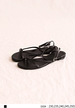 [SHOES] TIPS STRAP FLIP FLOP SANDAL