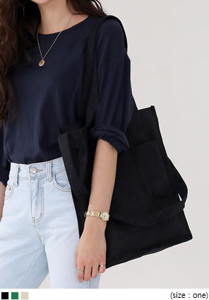 [BAG] MULTI POCKET SHOULDER BAG