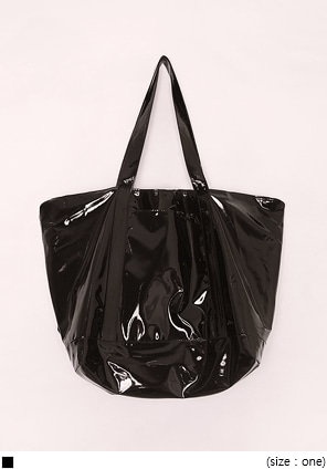 [BAG] GLOSSY WATERPROOF BAG