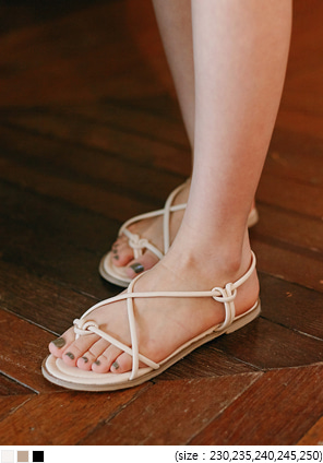 [SHOES] FORET TWIST FLIP FLOP SANDAL