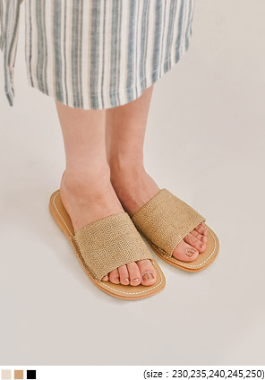 [SHOES] TOSS DAILY STITCH SLIPPER - 2 TYPE