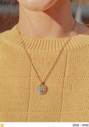 [JEWELRY] VINTAGE ROMA PENDANT NECKLACE