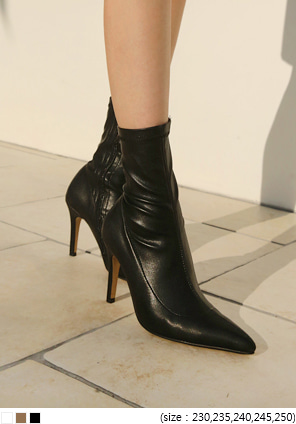 [SHOES] SLIM SPAN STILETTO ANKLE BOOTS