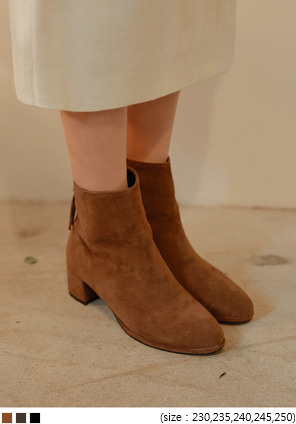 [SHOES] MOOD LINE SUEDE ANKLE BOOTS