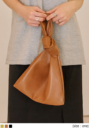 [BAG] LUCE KNOT LEATHER BAG