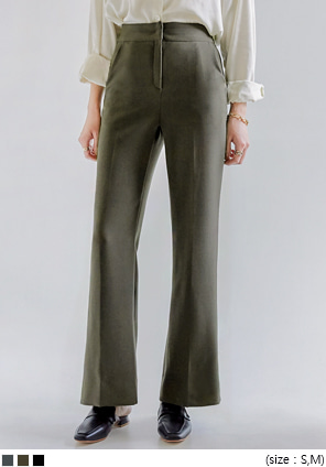 [BOTTOM] BENFE SET-UP SEMI BOOTS SLACKS