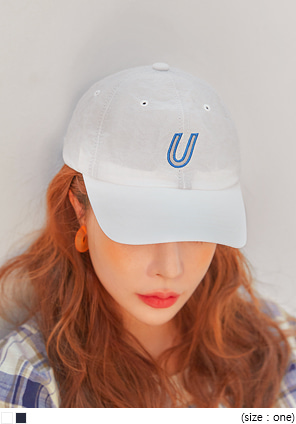 [ACC] SCOTCH U NEEDLE POINT BALL CAP