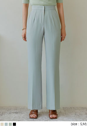 [BOTTOM] LENIS COOL SEMI BOOTS SLACKS