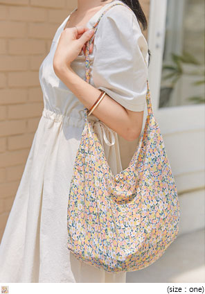 [BAG] MEW FLOWER COTTON BAG