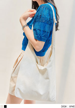 [BAG] STIMA COTTON SHOULDER BAG