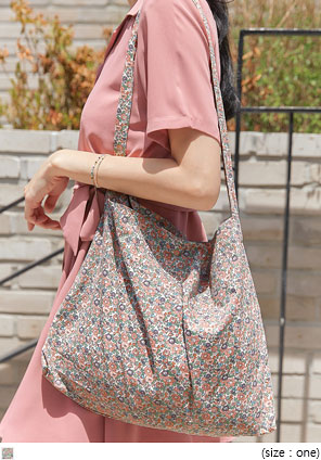[BAG] ROOKIE FLOWER COTTON BAG