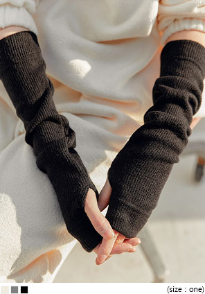 [ACC] WINTER KNIT ARM WARMER