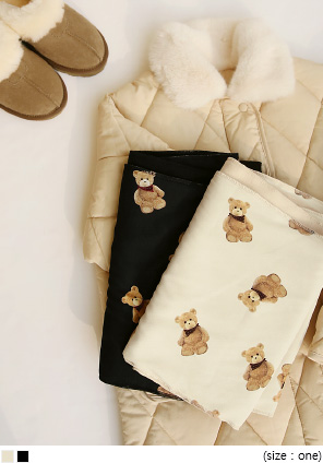 [ACC] TEDDY BEAR NAPPING MUFFLER