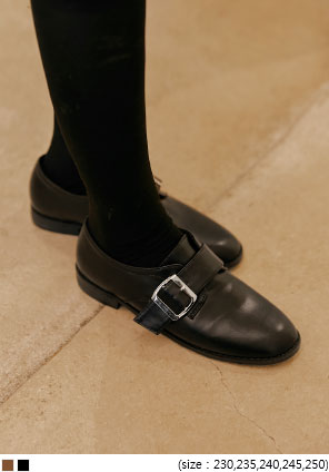[SHOES] PRISON BUCKLE LOAFER