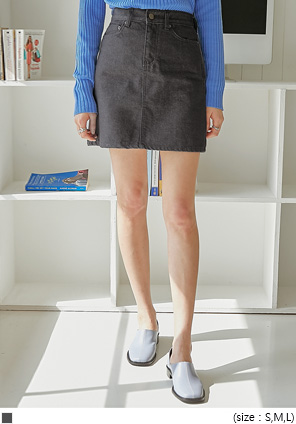 [SKIRT] CHENS DENIM MINI SKIRT