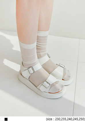 [SHOES] BOHENDI BUCKLE STRAP SANDAL