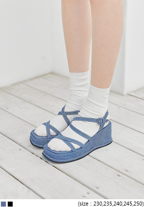 [SHOES] BIABO PLATFORM SANDAL - 2 TYPE