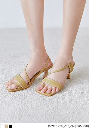 [SHOES] BIAIAN STRAP SANDAL HEEL