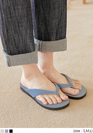 [SHOES] ABENRI BASIC FLIP FLOP SLIPPER