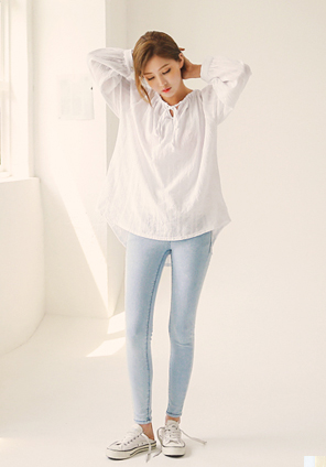 [TOP] LOVELY COTTON BLOUSE
