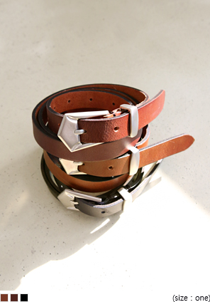 [ACC] SMALL LEATHER BELT