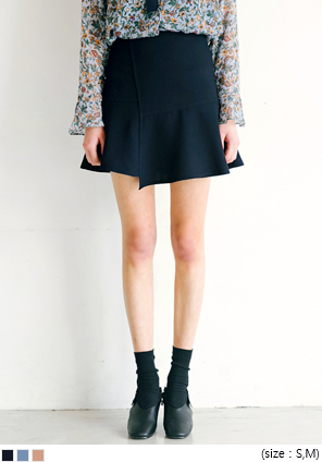 [SKIRT] FRESH UNBAL FLARE SKIRT