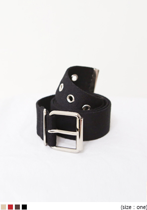 [ACC] FABRIC SQUARE PUNCHING BELT