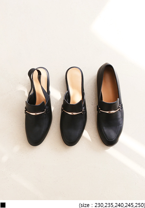 [SHOES] 3 TYPE GOLD BLACK SHOES
